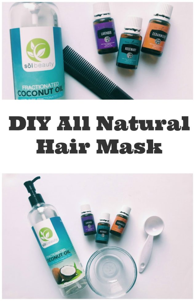 Coconut Oil Hair Mask Recipe: All Natural Hair Strengthening and Conditioning